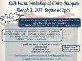 3-12-2017-milk-paint-workshop-tinks-antiques-at-tinks-antiques-tamaqua
